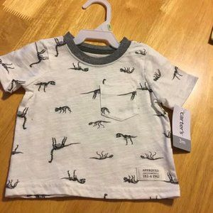 NWT Carter's infant 3month tshirt